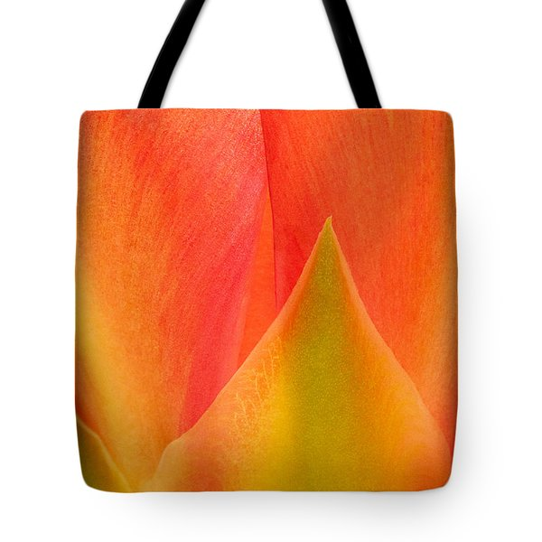 Tote Bag featuring the photograph Prickly Pear Flower Petals Opuntia Lindheimeni In Texas by Dave Welling