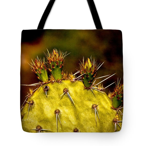 Prickly Pear Spring Tote Bag