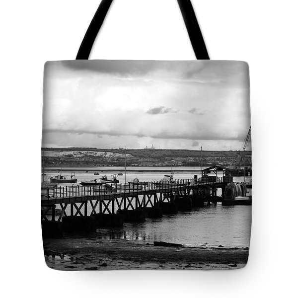 Priddy's Hard Jetty Tote Bag by Terri Waters