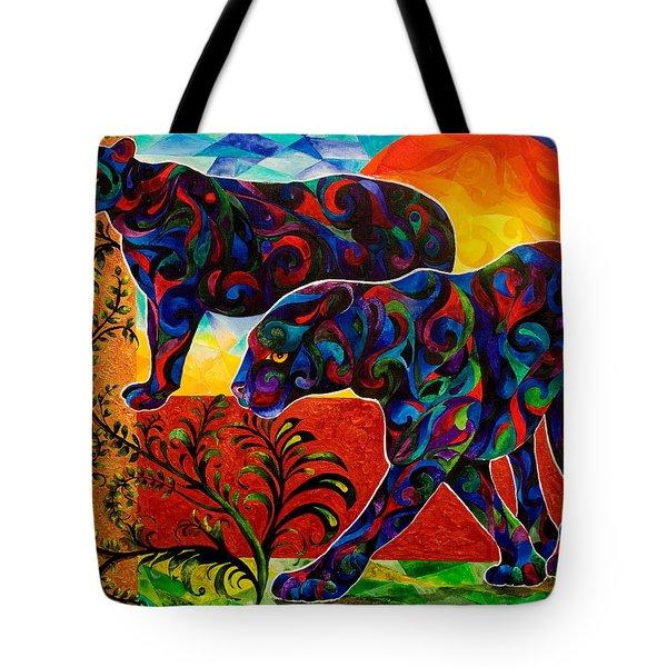 Primal Dance Tote Bag