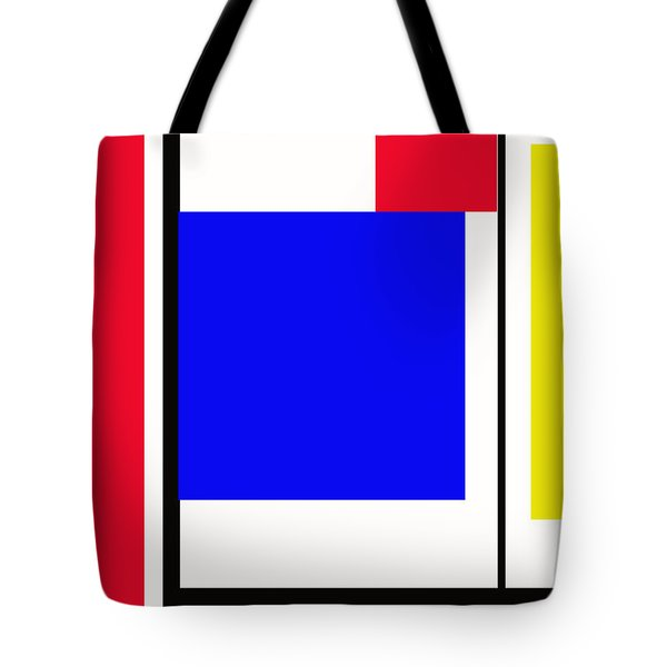 Primary Abstract Motivational Tote Bag by Tom Gari Gallery-Three-Photography