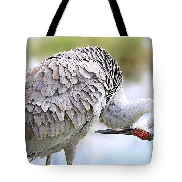 Primed For Preening Tote Bag