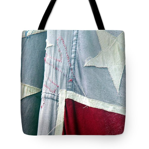 Primitive Flag Tote Bag