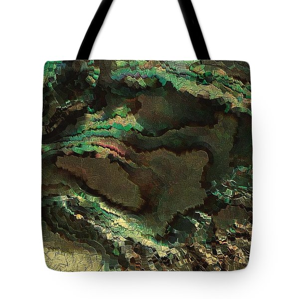 Primordial Life By Rafi Talby  Tote Bag by Rafi Talby