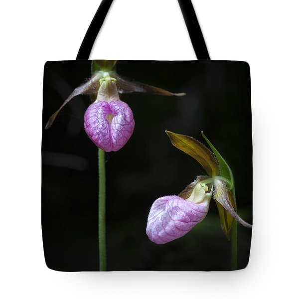 Prince Edward Island Lady Slippers Tote Bag by Verena Matthew