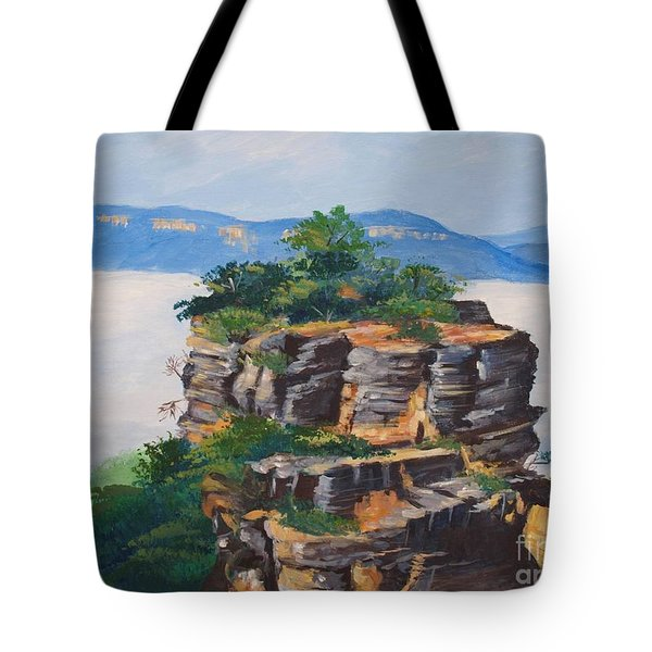 Prince Henry Cliff Australia Tote Bag