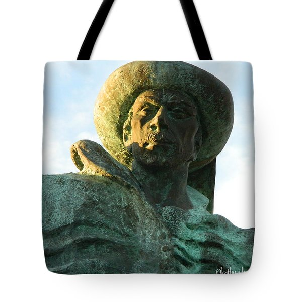 Tote Bag featuring the photograph Prince Henry The Navigator by Kathy Barney