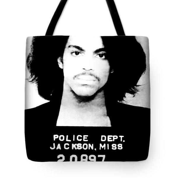 Prince Mugshot Tote Bag