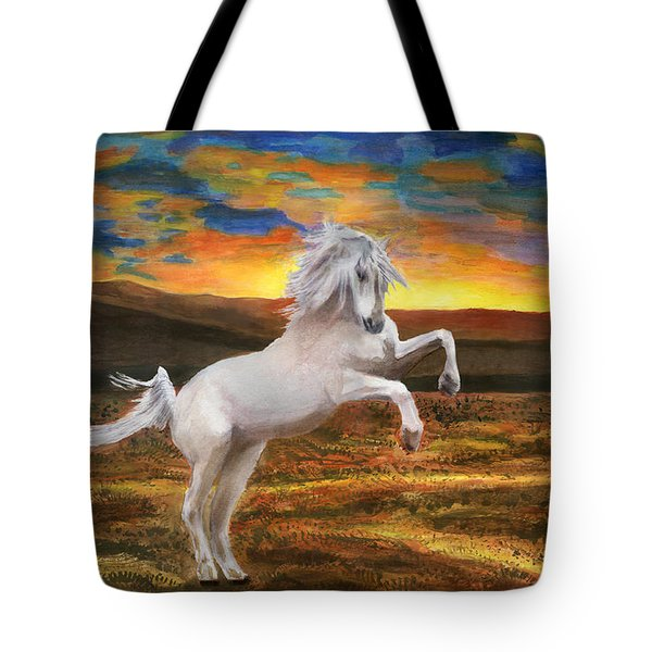 Prince Of The Fiery Plains Tote Bag by Peter Piatt
