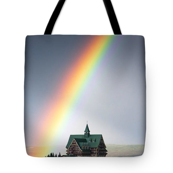 Prince Of Wales Rainbow Tote Bag by Mark Kiver