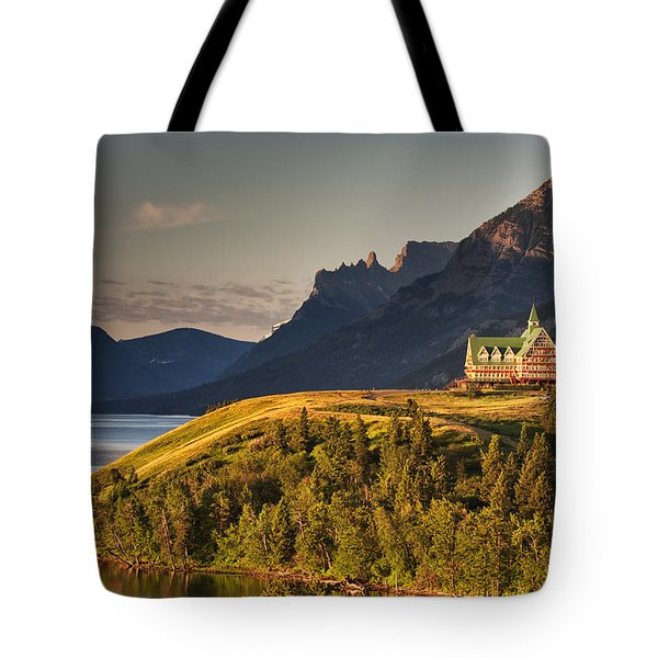 Prince Of Wales Sunrise Tote Bag