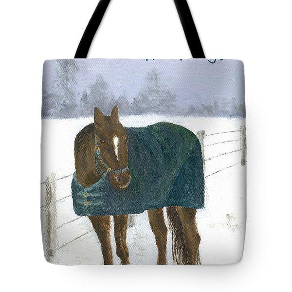 Prince Seasons Greetings Tote Bag
