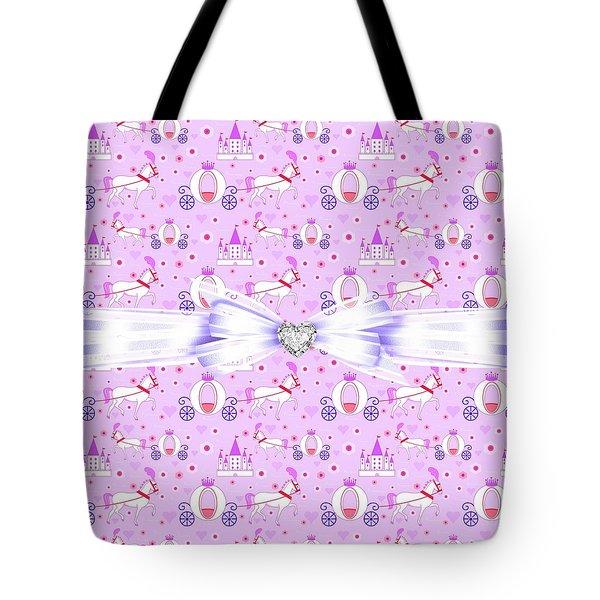 Princess Celebration Tote Bag by Debra  Miller