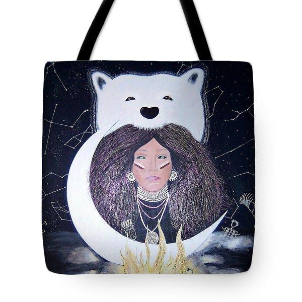 Princess Moon Tote Bag