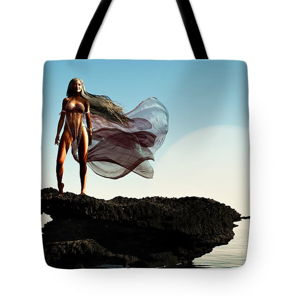 Princess Of Mars... Tote Bag by Tim Fillingim