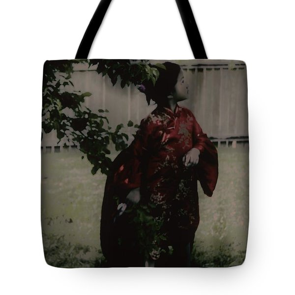 Tote Bag featuring the photograph Princess Of Tranquility  by Jessica Shelton