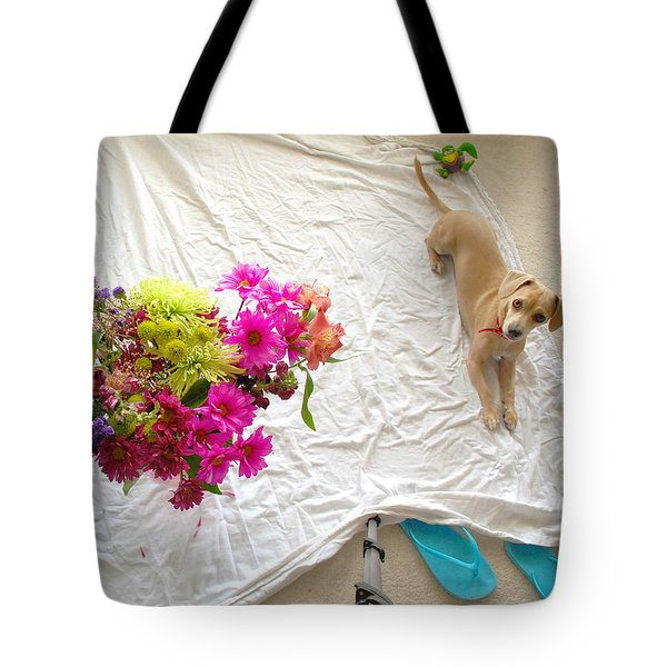 Tote Bag featuring the photograph Princess On Assignment by Angela J Wright