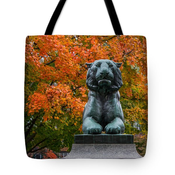 Princeton Panther Tote Bag