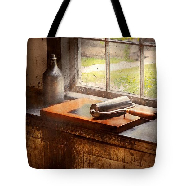 Printer - A Hope And A Brayer Tote Bag by Mike Savad