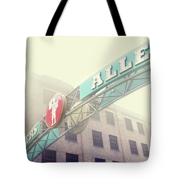 Printers Alley Tote Bag by Amy Tyler