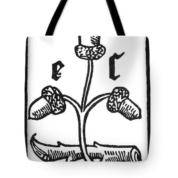 Printer's Device, 1491 Tote Bag