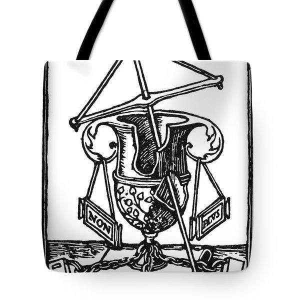 Printer's Device, 1525 Tote Bag