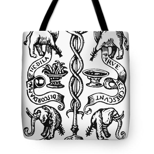Printer's Device, 1532 Tote Bag