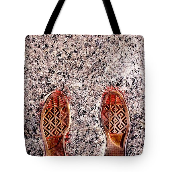 Prints Of Greatness Tote Bag by Benjamin Yeager