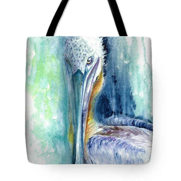 Tote Bag featuring the painting Priscilla by Ashley Kujan