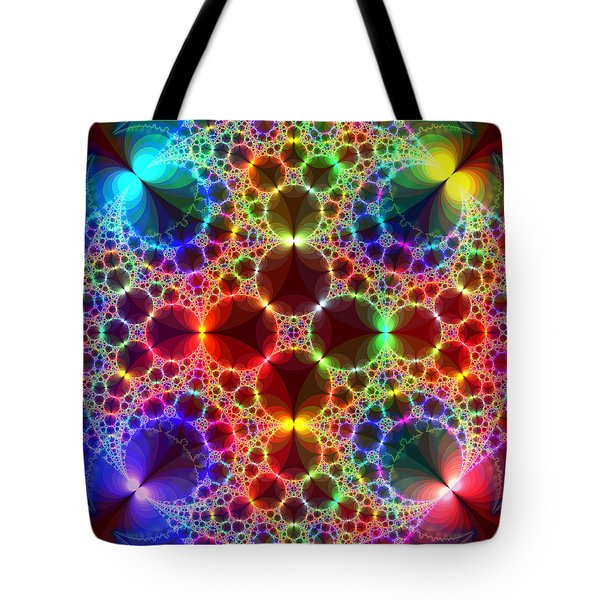 Prism Bubbles Tote Bag