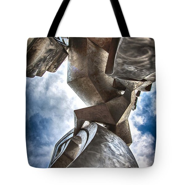 Pritchard Park Art Is Looking Up Tote Bag