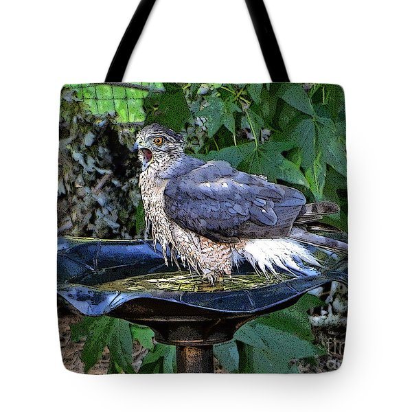 Privacy Please Tote Bag by Sue Melvin