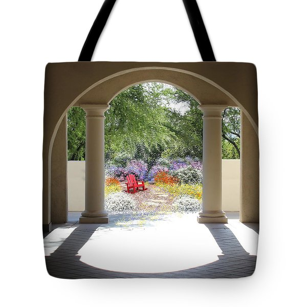 Private Garden Tote Bag by Kume Bryant