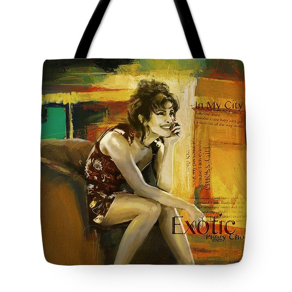 Priyanka Chopra Tote Bag by Corporate Art Task Force