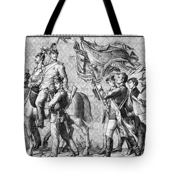 Procession Of Princes - Dresden Germany Tote Bag by Christine Till