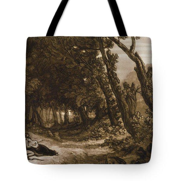 Procris And Cephalus Tote Bag
