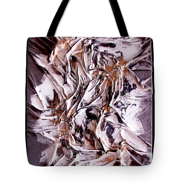 Profile Abstracted Tote Bag
