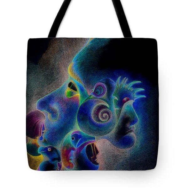 Profile Tote Bag by Bodhi