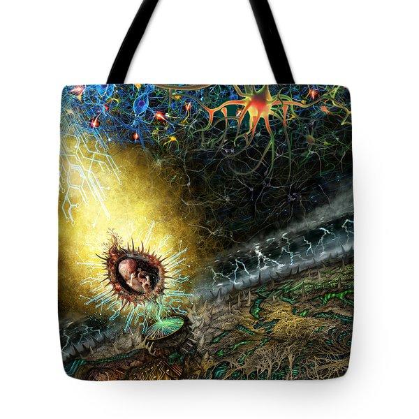 Programmable Evolution  Tote Bag