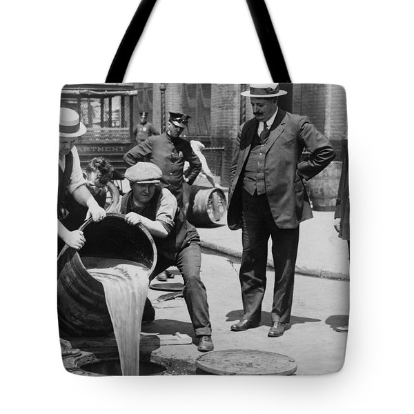 Prohibition In The Usa Tote Bag