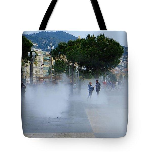Promenade Des Arts Nice Tote Bag