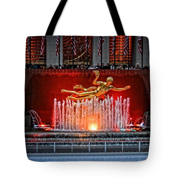 Prometheus Tote Bag by Mike Martin