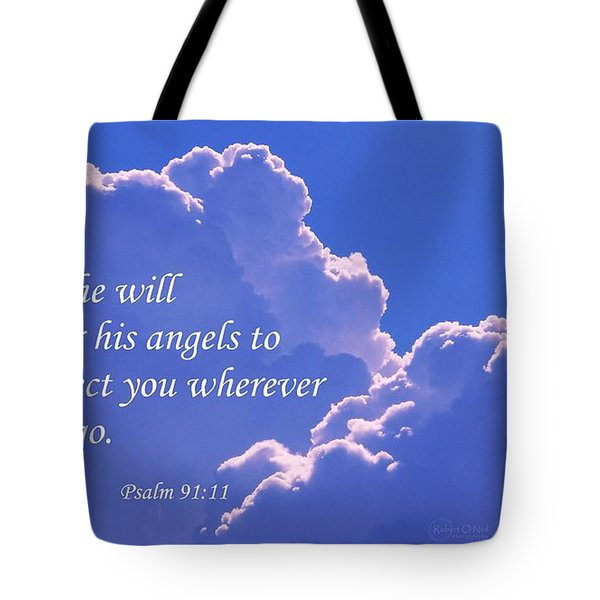 Promise Of Protection Tote Bag