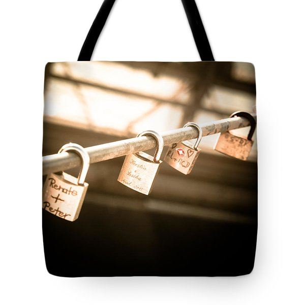 Tote Bag featuring the photograph Promises We Made by Peta Thames