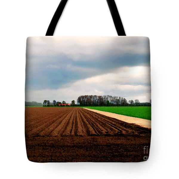 Promissing Field Tote Bag