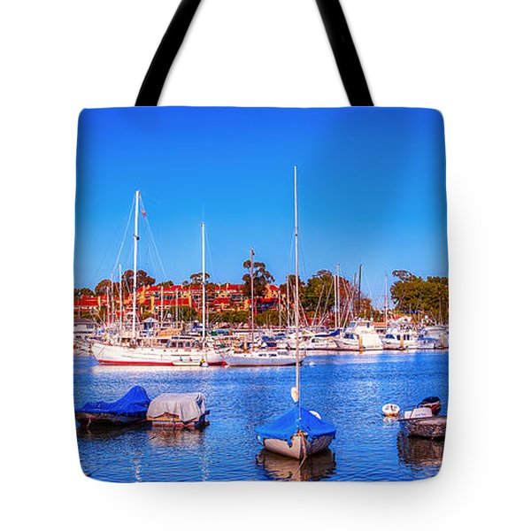 Promontory Point - Newport Beach Tote Bag by Jim Carrell