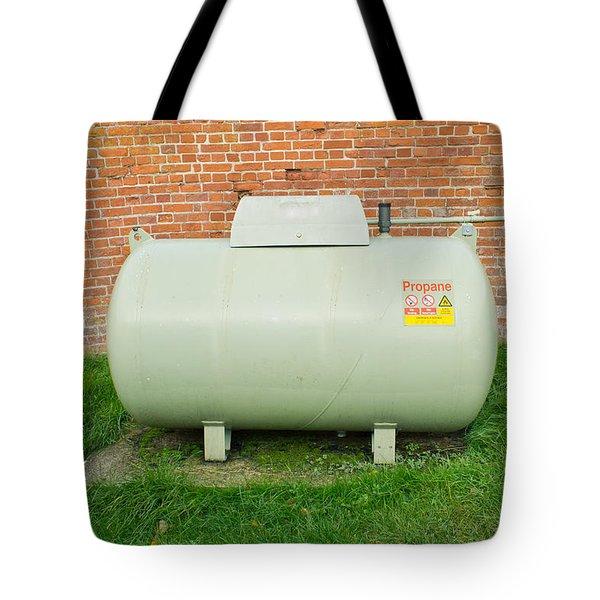 Propane Tank Tote Bag