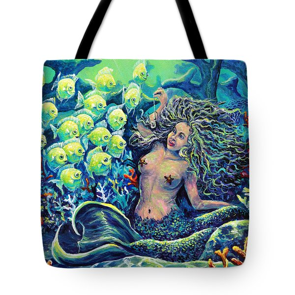 Proper Schooling Tote Bag by Gail Butler