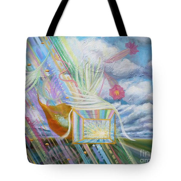 Prophetic Ms 39 Praise And The Festival Of Booths/feast Of Tabernacles Tote Bag