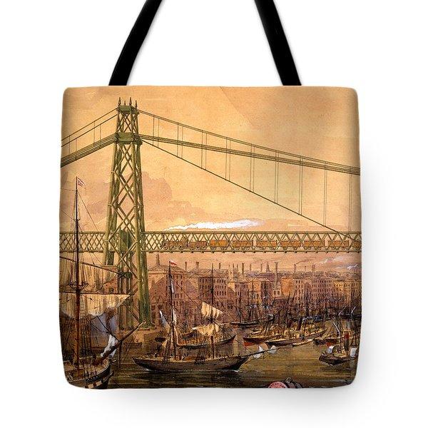 Proposed Railway Bridge Tote Bag